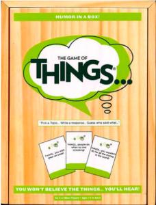 Idées échange de cadeaux Game of things